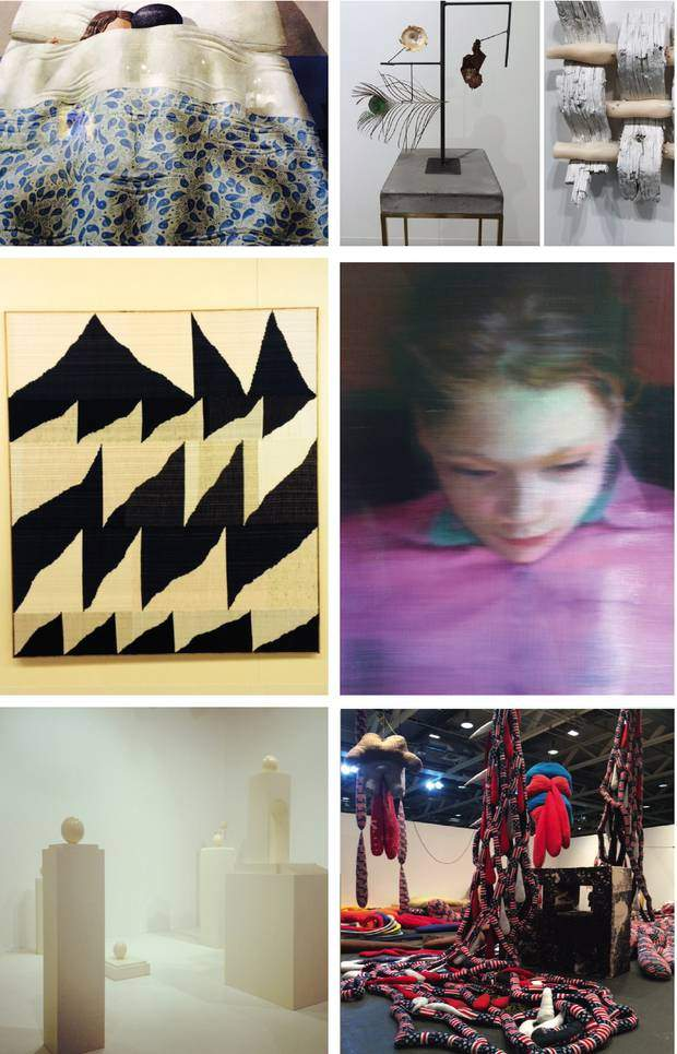 """A small selection of Leonie's favorite Art from this year's Art Basel: Gnoli at Luxembourg & Dayan, Carol Bove, Robert Gobert at Mathew Marks, Brent Waddon at Peres Projects, Richter at Beyerler """"Ella"""", Haris Epinonda at Rodeo Gallery Basel, Sterling Ruby at Art Unlimited Sprüth Magers Gallery"""