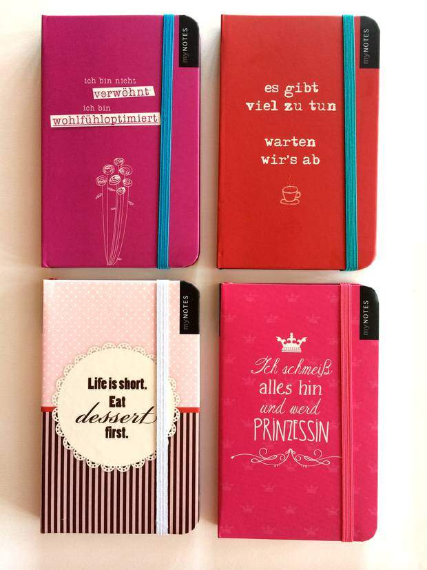 All notebooks by myNOTES from arsEdition