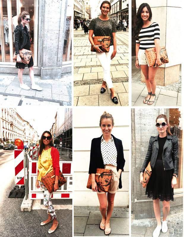 Paulina, Munich; Sabina K., Munich; Irma L., Canada; Maria adela S, Canary Islands, Spain; Yana K., Munich & Paulina again
