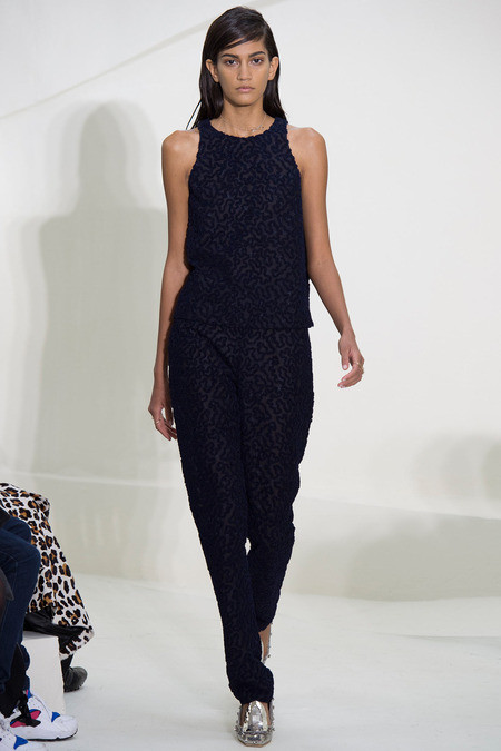 Navy jumpsuit, Christian Dior