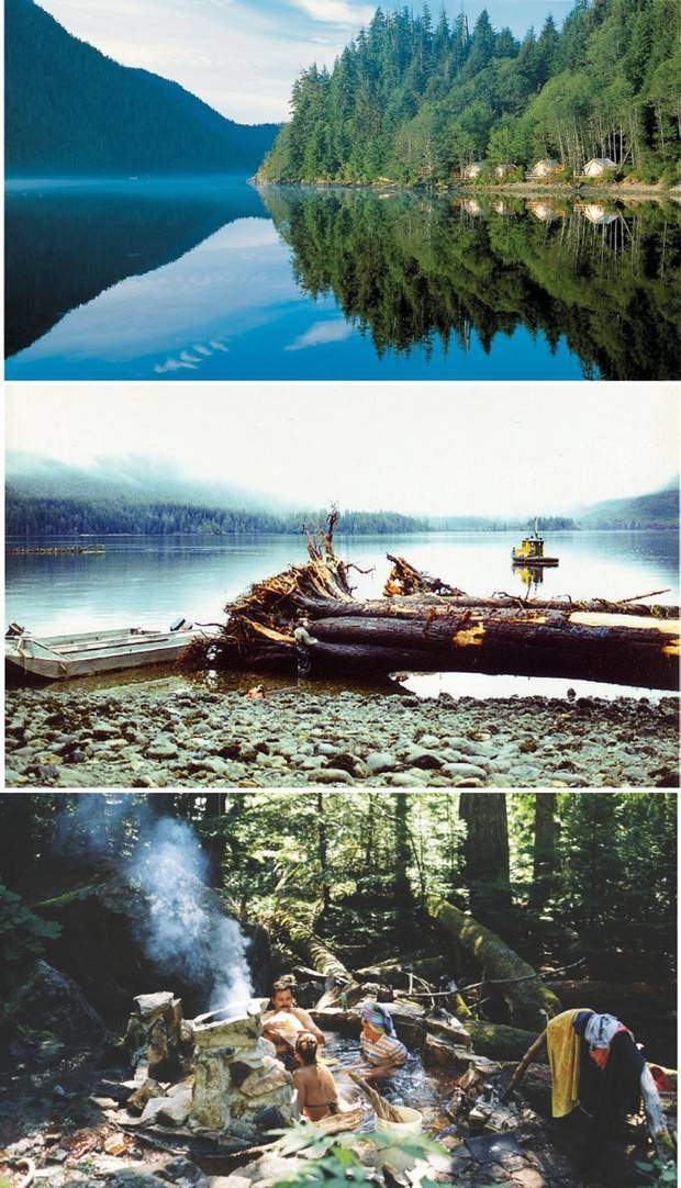 First two pictures: CLAYOQUOT in Tofino, Canada, a double spread from the book THE OUTSIDER by Gestalten Berlin