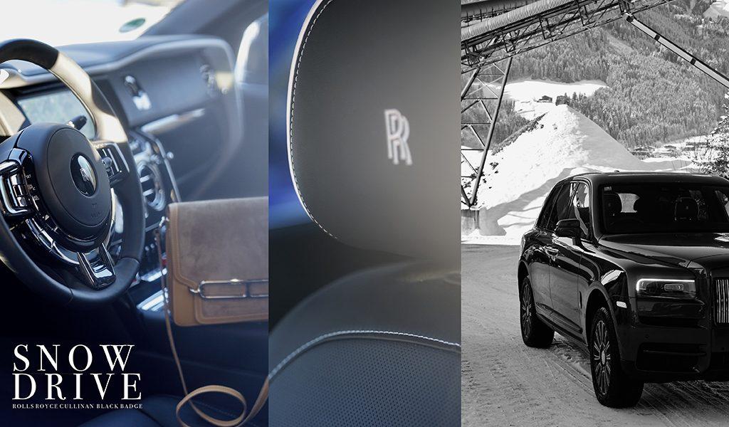 Rolls Royce Cullinan Black Badge a piece of modern design perfection