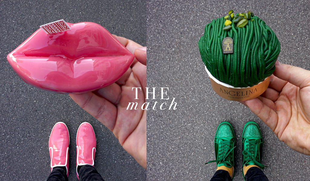 French pastry chef Tal Spiegel combines pastries with his favourite accessories, shoes & laces