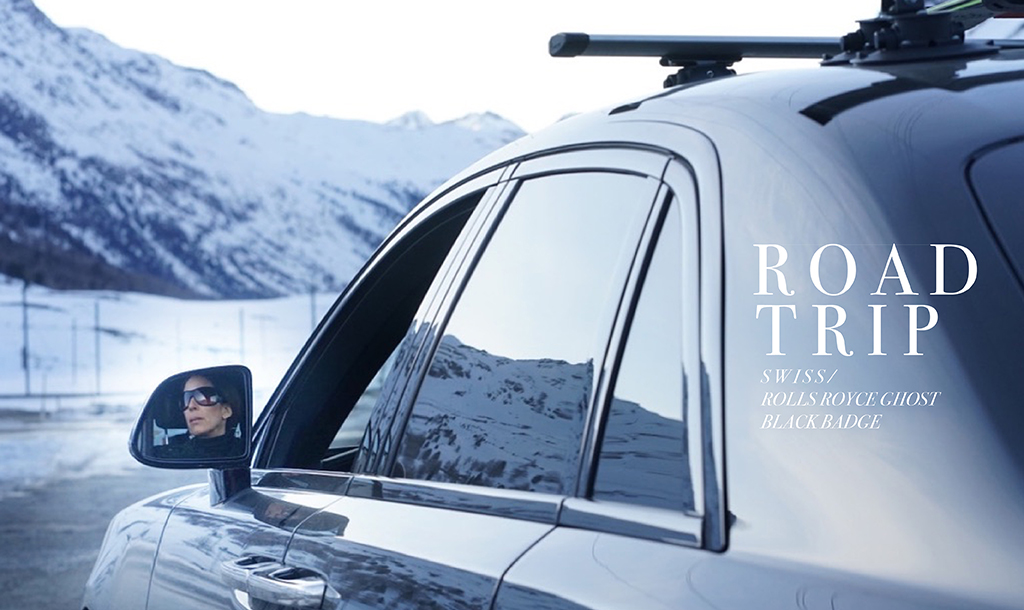 Winter Road Tripping IV with Rolls Royce Ghost Black Badge