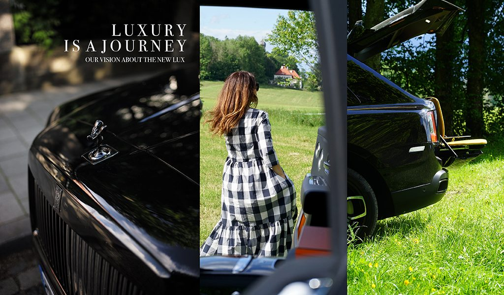 Luxury is a journey, not a goal