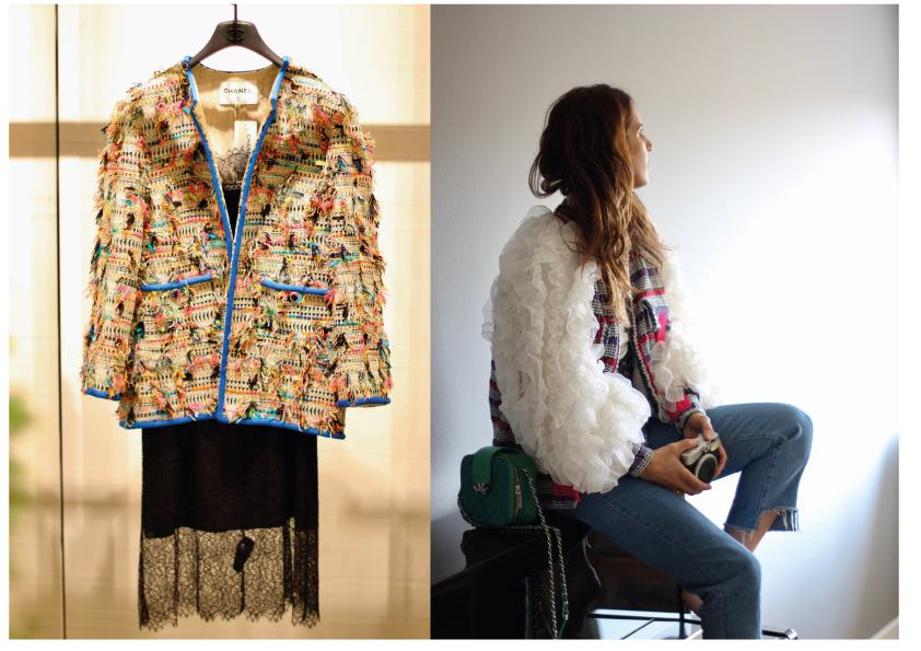 88f25e5992 When I was asked to select a favorite item from the #DataBase collection  spring/summer 2017, it was an easy task to pick a signature jacket by Coco  Chanel ...