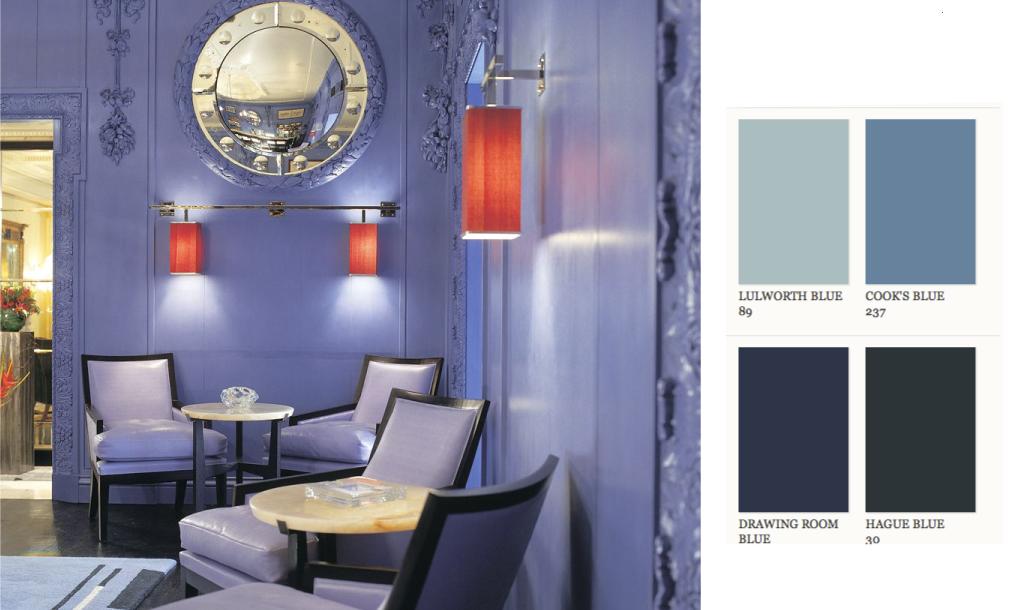 The Blue Bar at the Berkeley in Knightsbridge London. © The Berkeley & IRMAS favourite painted rooms | Irmas World
