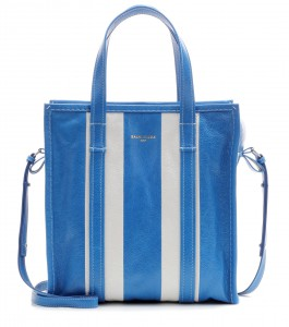 Balenciaga striped leather tote Bazar