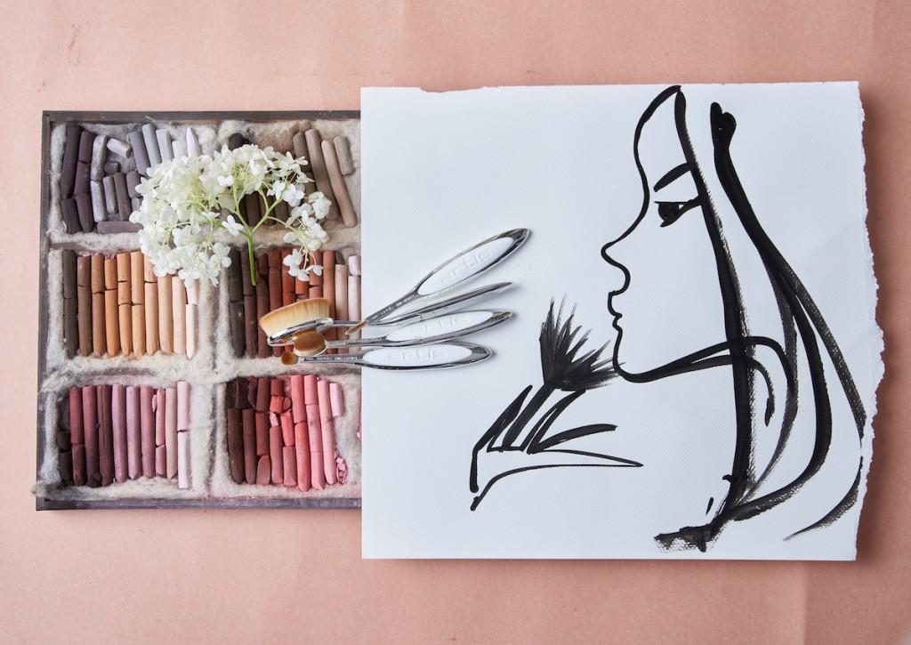Artis make-up brushes