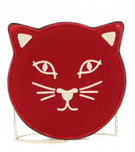 Charlotte Olympia Pussycat clutch