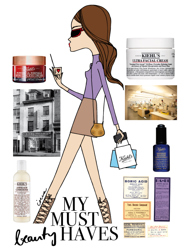 IRMA is getting over her jet lag by walking around town whenever she feels tired, which works best to stabilize your metabolism when changing time zones. Also use your favorite products more than usually throughout the day to plump your skin and take some extra care.