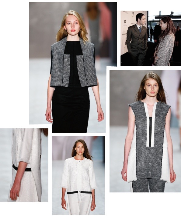 All pictures showing Mareike Messing's finalist collection for the DfT Award, Jasmin Khezri from IRMASWORLD with Mr. Zac Posen. Slider on homepage shows Mareike Messing's Collection she had shown for the DFT Award in Berlin, together with Designer Zack Posen and IRMA's favorite dress from the Zac Posen Resort 2016 Collection