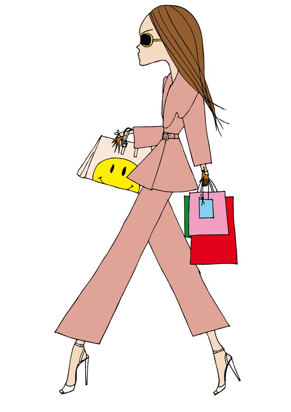 IRMA wears a trouser suit by Emilia Wickstead and bag by Anya Hindmarch, shoes by Manolo Blahnik