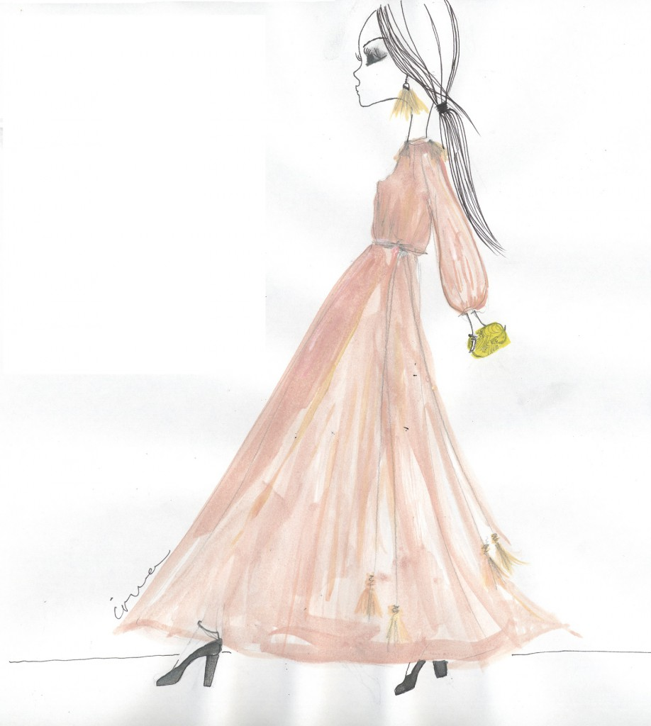 IRMA wears her favorite dress by Lanvin A/W 2015 collection