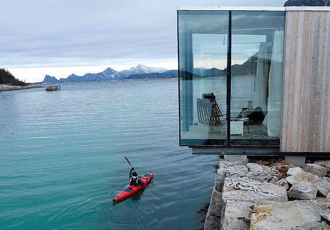 SEA CABINS, Manshausen Island, Norway, , Boutique Homes