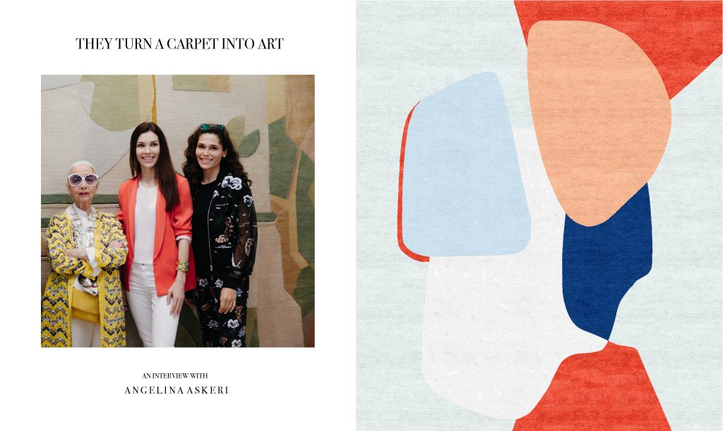Angelina Askeri & Tapis Rouge: theses rugs are a piece of art
