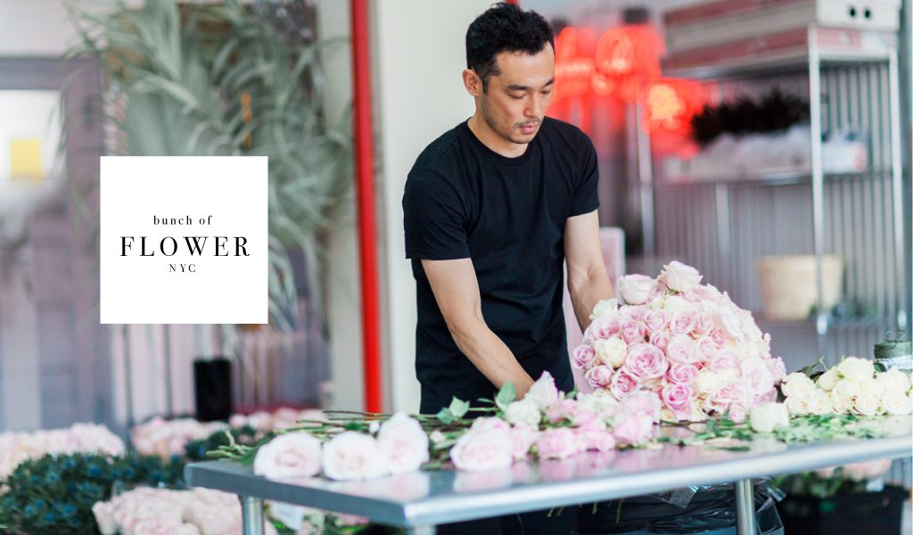Flower arrangement by BUUNCH in New York are more than pure decoration