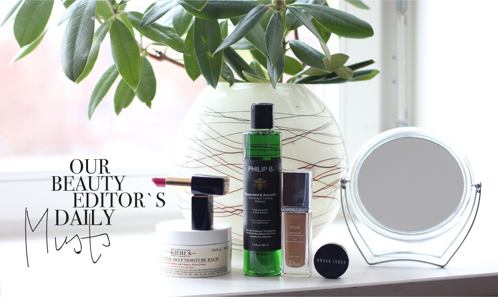 Our Beauty Editor Franziska Marr shares her favorite products