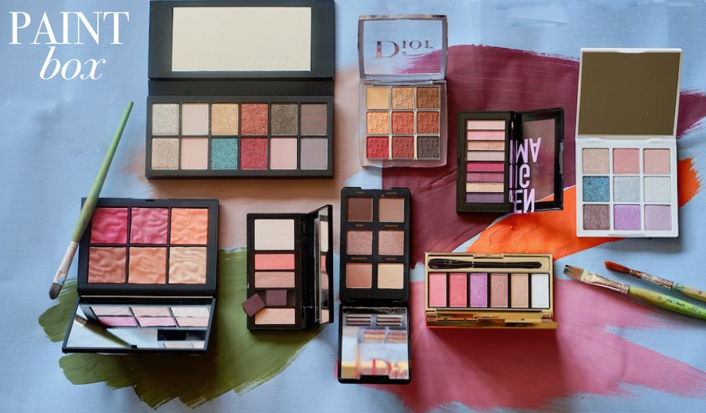 Be creative with the latest make-up colour Pallet