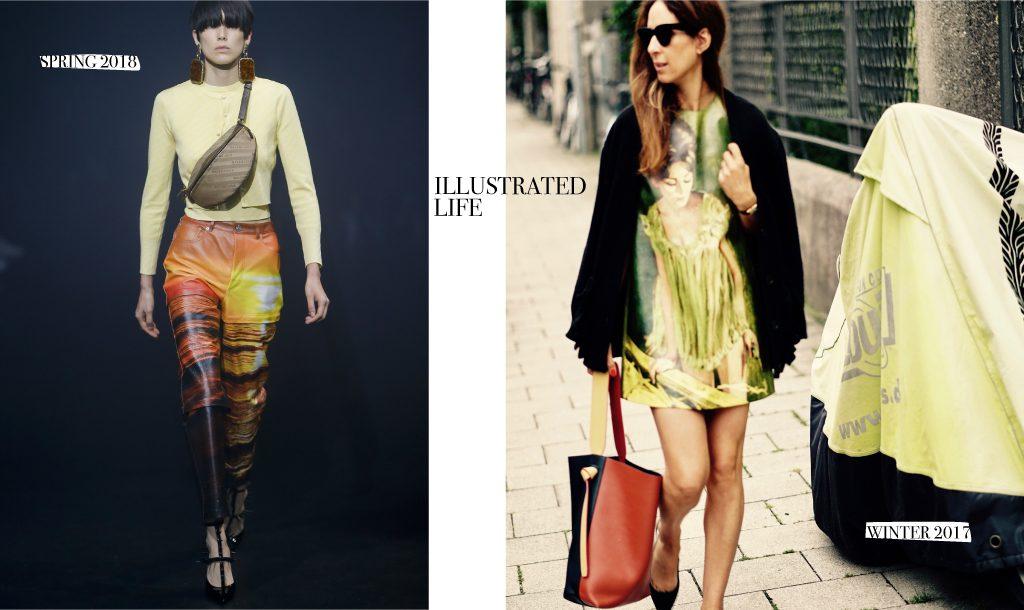 ILLUSTRATION is fun, just look at Balenciaga, Chloe, Dior…