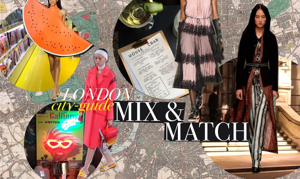 A fashionable London City Guide