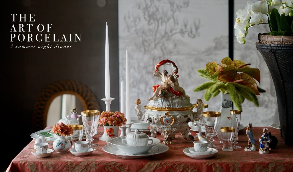 Meissen – the art of setting a table