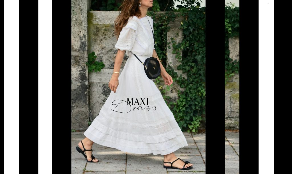 The Maxi dress for an endless summer