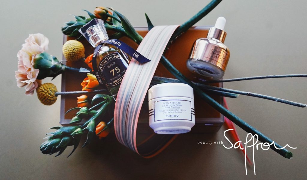 Saffron. The latest power ingredient in our beauty products