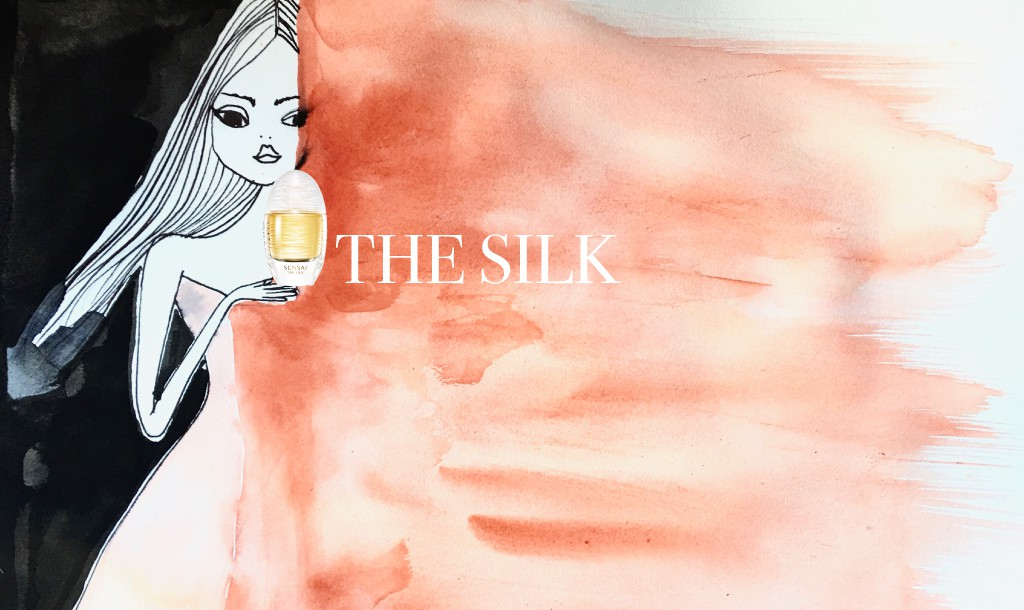 THE SILK by SENSAI: A perfume experience like a veil of silk that enchants you all day long