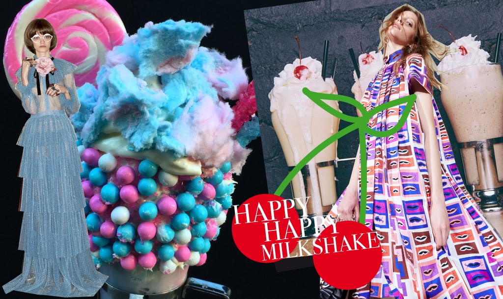 Finally some milkshakes that remind us of our favorite fashion?