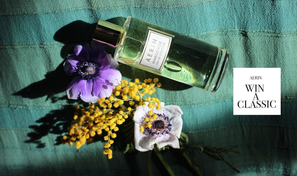 A fragrance etiquette guide on how to use scent – and win a bottle of AERIN Eau de Cologne