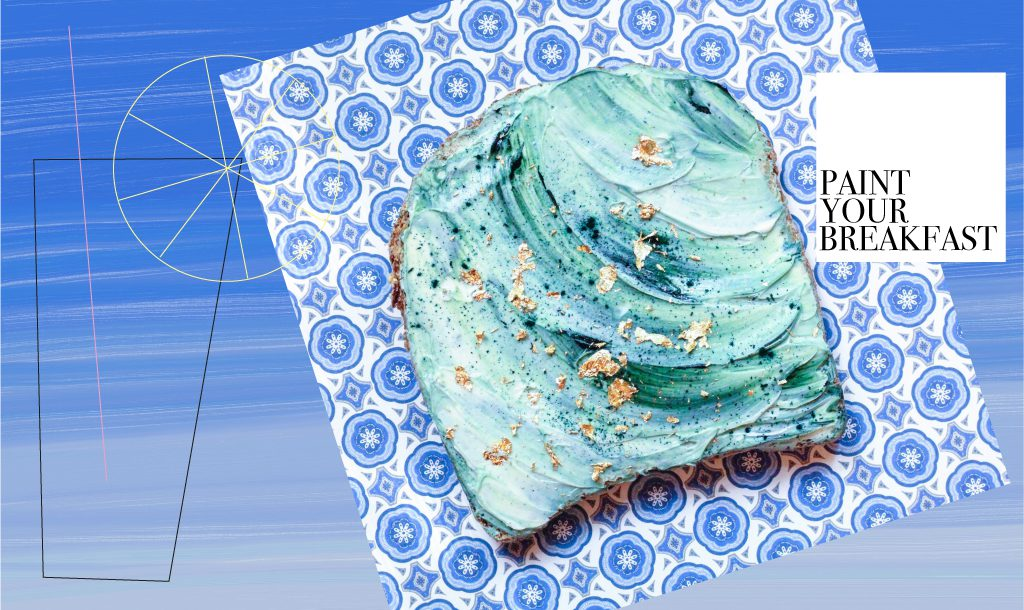 Colour is most important for breakfast – Mermaid Toasts by Adeline Waugh