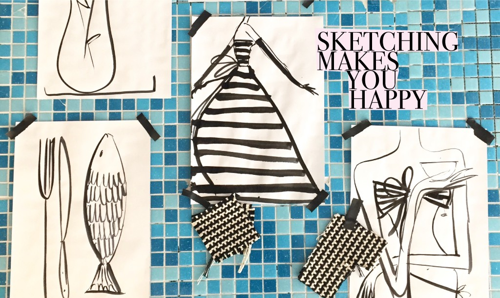 The restless sketcher & why drawing makes you happy