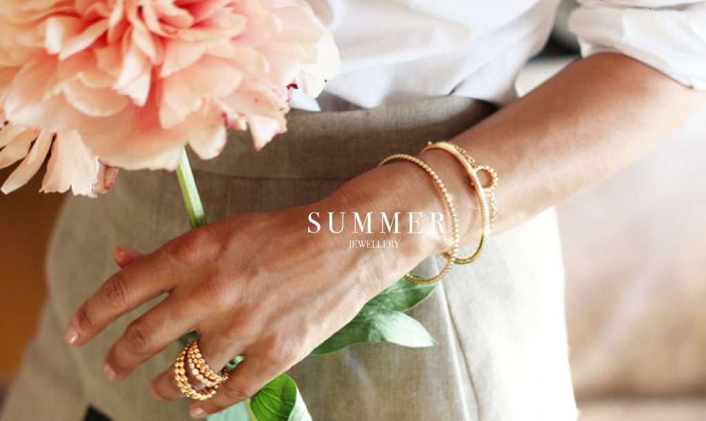 Summer jewels are easy