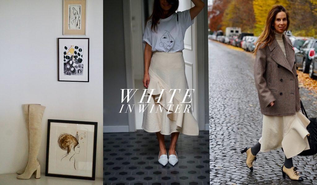 White for now. Five reasons to wear this colour when its grey outside