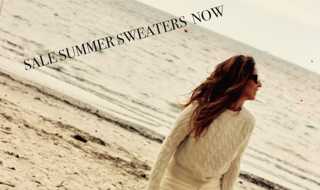 Shop summer sweaters on sale now…