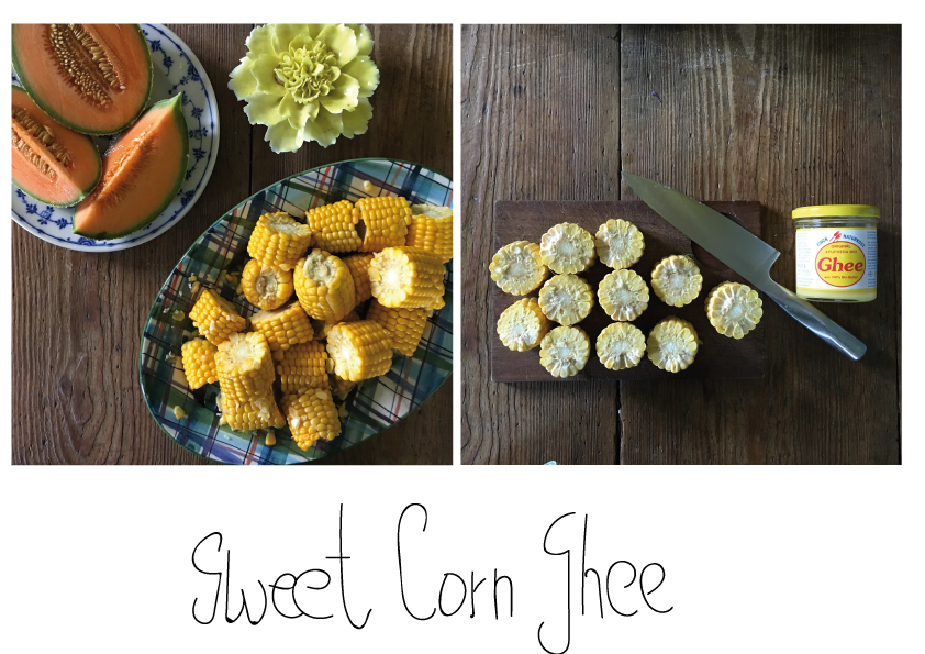 Sweet-corn-Ghee
