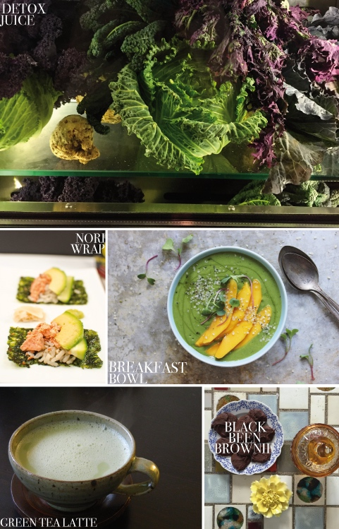 Some ideas from our kitchen in New York. The freshest ingredients make the best meals & snacks for a day.