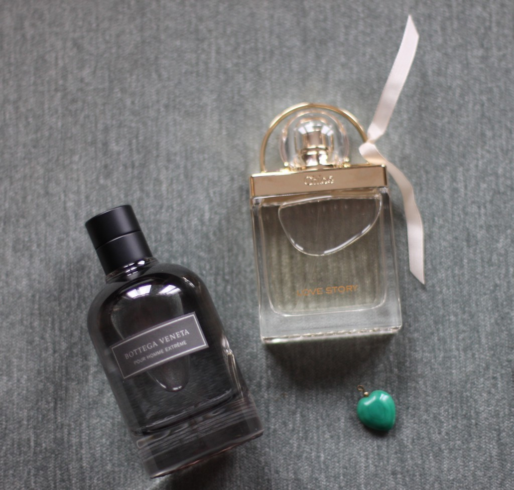 A perfect match: Love Story by Chloé and Bottega Veneta, Pour Homme Extreme