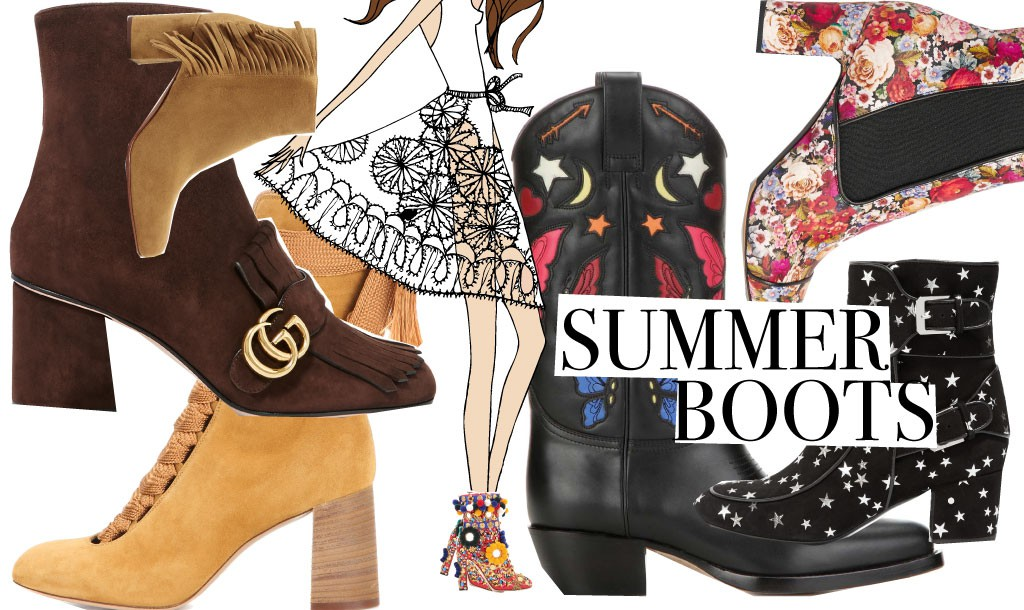 These boots are made for summer